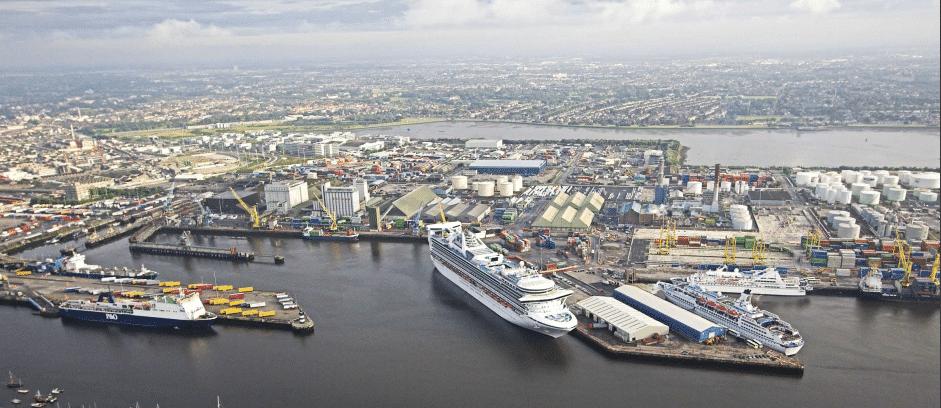 Dublin Port Internal Roads, Cycle & Pedestrian Network